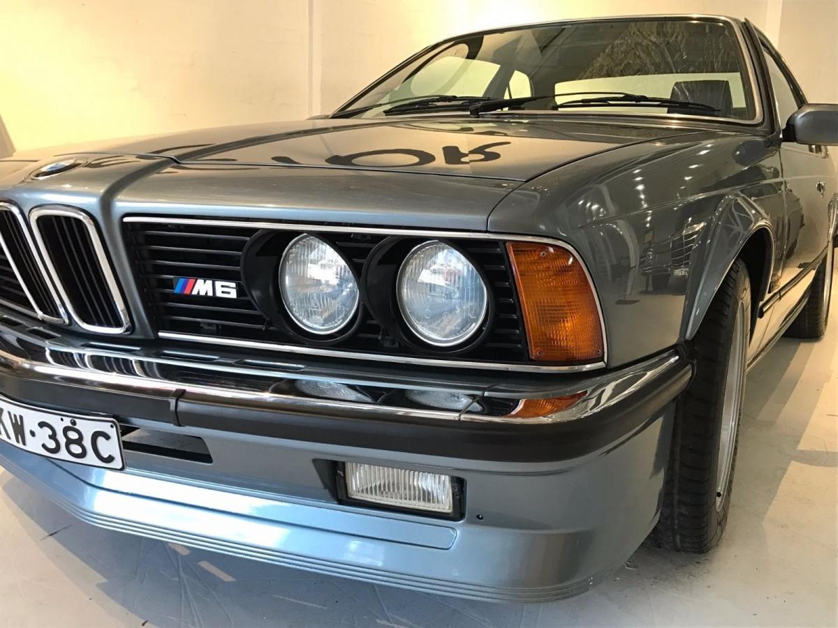 1986 BMW 6 Series E24 M6 / M635 CSI Coupe   classicregister