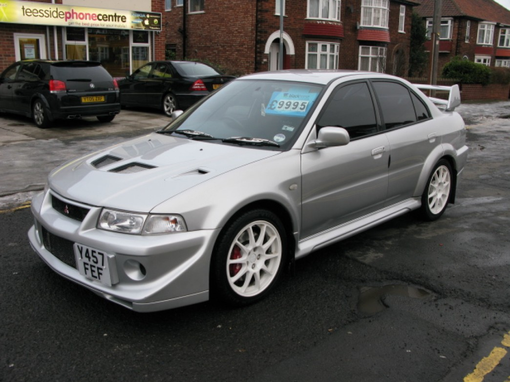 Car colour match by registration - How To Identify A 1999 2001 Mitsubishi Lancer Evolution 6 5 Tme Classicregister