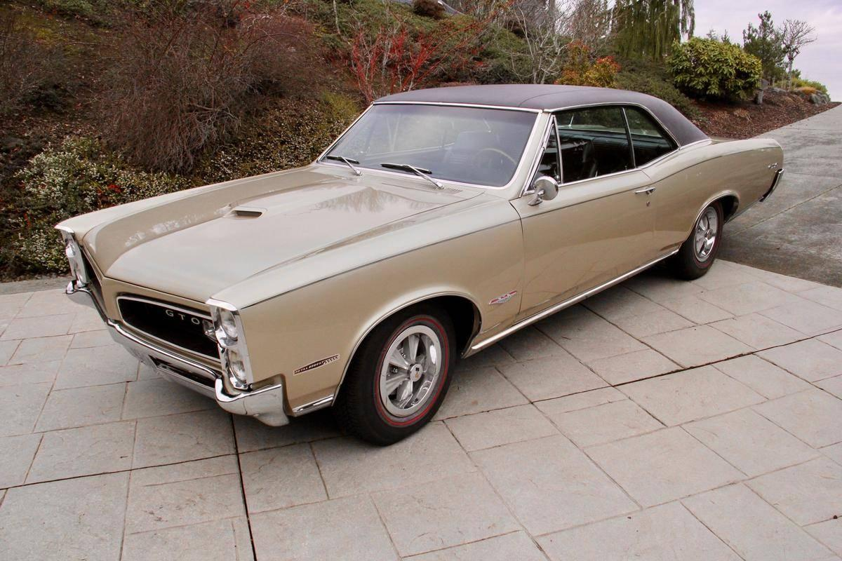Vintage Druckguss 1966 Pontiac Gto Hardtop-Coupé 1//32 Maßstab Nib