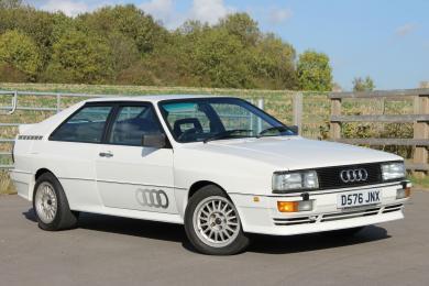 Audi UR Quattro White