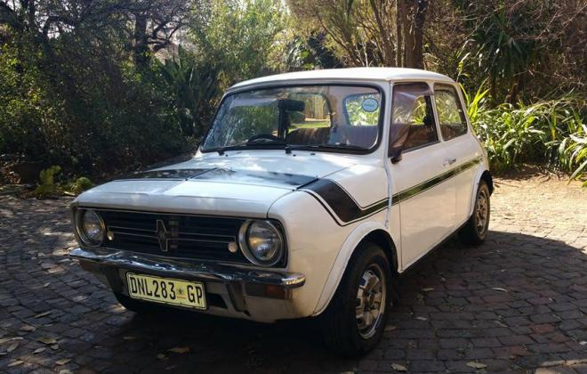 1 1978 Leyland Mini GTS in White with black stripe - original condition south africa (22).jpg