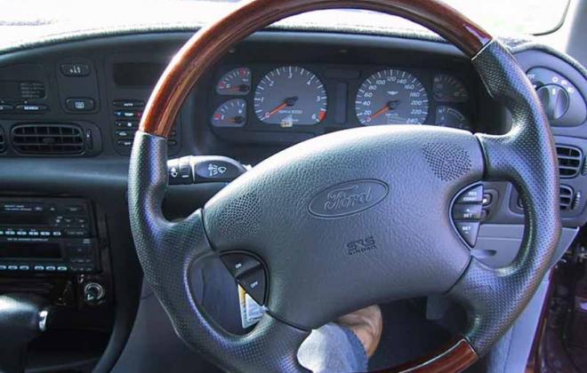 1 1997 Ford Falcon EL GT steering wheel and dashboard image.jpg