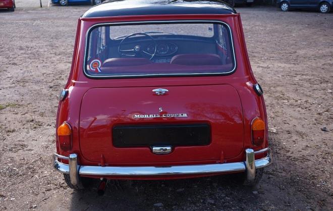 1 Black over Tartan red 1965 Morris Cooper S MK1 British built image (6).jpg