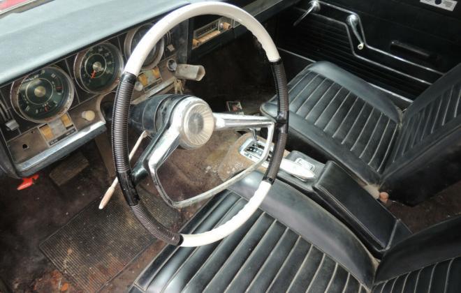 194 Studebaker Daytona Bordeaux Red unrestored R1 original hardtop (9).jpg
