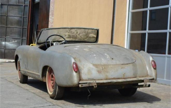 1952 Nash Healey Roadster convertible silver images (4).jpg