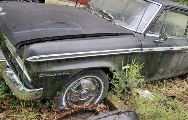 1964 289 Daytona hardtop unrestored black paint (4).jpg