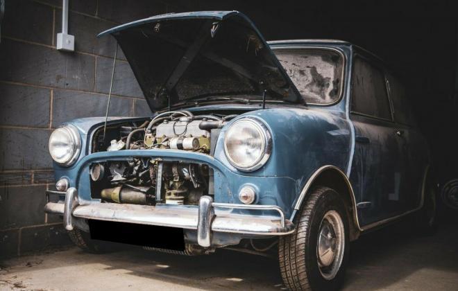 1964 Austin Mini cooper S police car early MK1 for sale (12).jpg