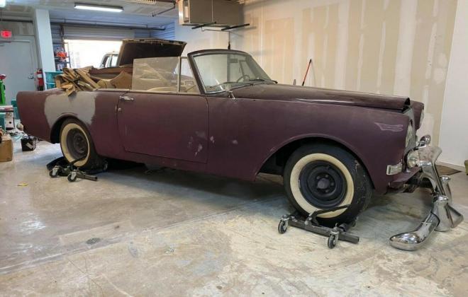 1964 Bentley S3 continental convertible unrestored drop head coupe (15).jpg