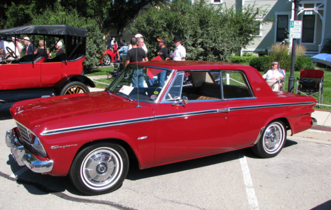1964 Studebaker Daytona Bordeaux Red paint code P6418.png