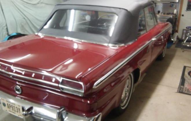 1964 Studebaker Daytona Convertible Bordeaux Red black roof 2018 images (16).jpg