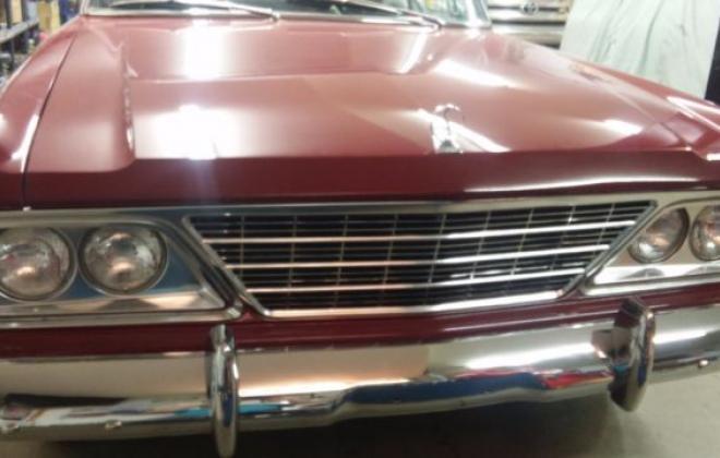 1964 Studebaker Daytona Convertible Bordeaux Red black roof 2018 images (17).jpg
