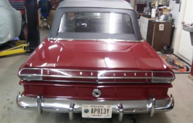 1964 Studebaker Daytona Convertible Bordeaux Red black roof 2018 images (2).jpg