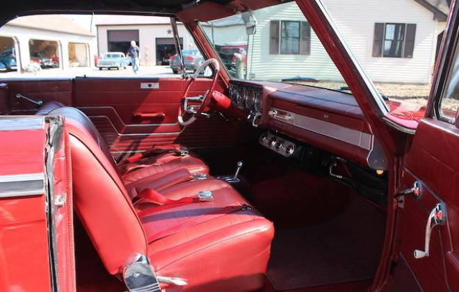 1964 Studebaker Daytona Convertible Red 17.JPG