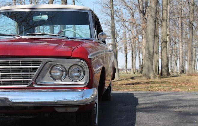 1964 Studebaker Daytona Convertible Red 2.JPG