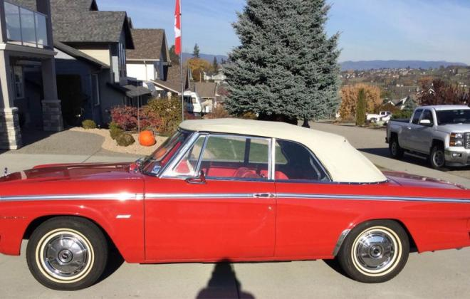 1964 Studebaker Daytona Convertible canada red with white top 2021 (2).jpg