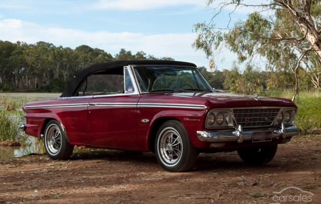 1964 Studebaker Daytona convertible R1 factory manual fully restored full package red (1).png