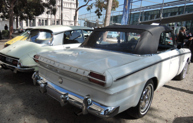 1964 Studebaker Daytona white convertible (white paint) black top.png