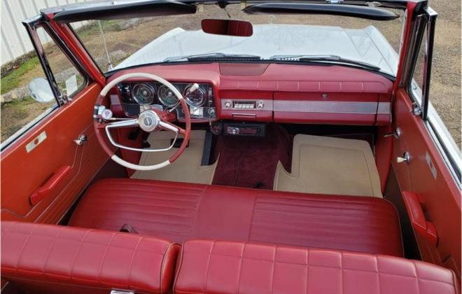 1964 white studebaker daytona convertible images red top (32).jpg