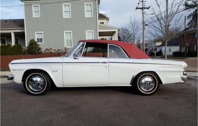 1964 white studebaker daytona convertible images red top (33).jpg