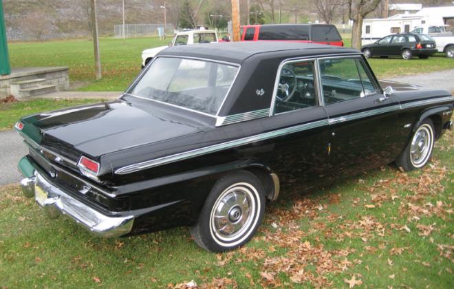 1965 Black Studebaker Daytona Sports sedan information guide (2).png