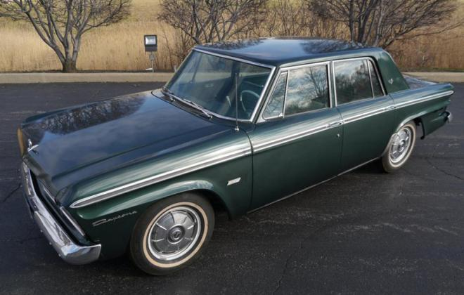 1965 STudebaker Daytona Sedan Jet Green Metallic P6415.jpg