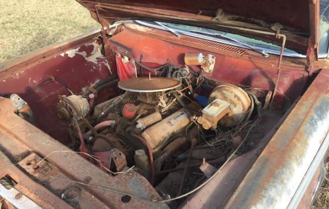 1965 STudebaker Daytona Sport Sedan Bordeaux Red wreck unrestored image (6).jpg