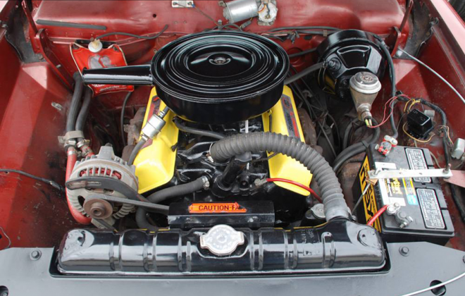 1965 Studebaker Daytona Sport Sedan V8 283 engine copy.png