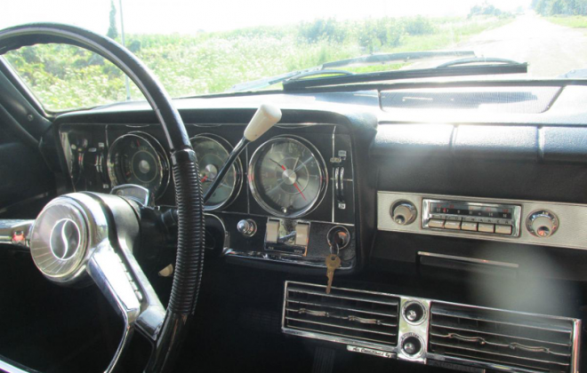 1965 Studebaker Daytona Sports Sedan interior black steering wheel (2).png