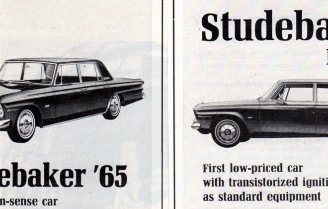 1965 Studebaker Daytona Sports Sedan original advertisement promotional material (4).JPG