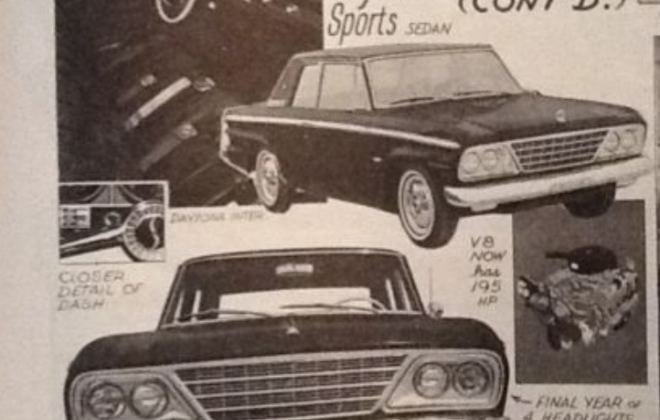 1965 Studebaker Daytona Sports Sedan original advertisement promotional material (1).png