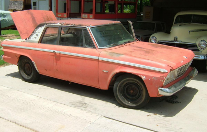 1965 Studebaker Sports Sedan paint code Sienna Red code P-6478 (2).png