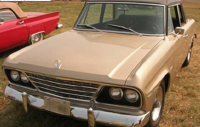 1965 Studebaker Sports Sedan paint code Yukon Gold code P-6477 (1).png