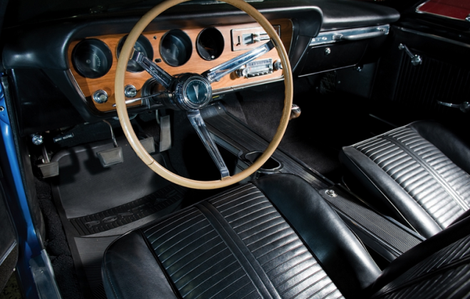 1966 Pontiac GTO interior image black interior.png