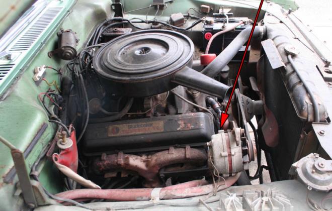 1966 Studebaker Daytona 283 V8 Mckinnon engine number stamping location (2).png