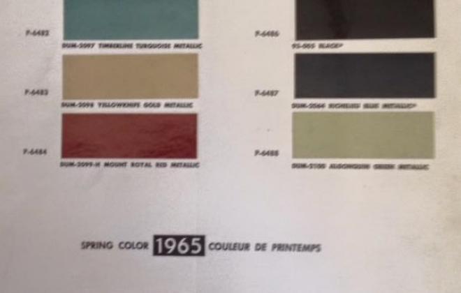 1966 Studebaker Daytona paint code charts.jpg