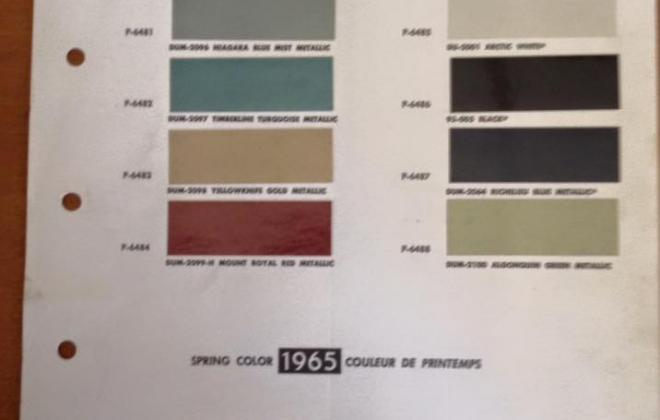 1966 Studebaker Sports Sedan paint colour chip sheet.jpg