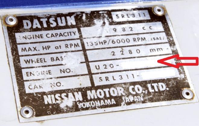 1967 Datsun Fairlady sport 2000 chassis plate.jpg