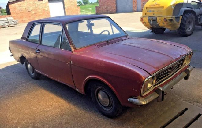 1967 Ford Cortina 1500 GT coupe manual burgundy UK (1).jpg