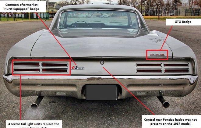 1967 Pontiac GTO rear.jpg