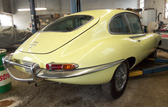 1968 E-Type Jaguar XKE Series 1.5 Pale Primrose paint (1).png