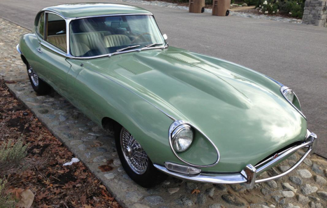 1968 E-Type Jaguar XKE Series 1.5 Willow Green paint (1).png