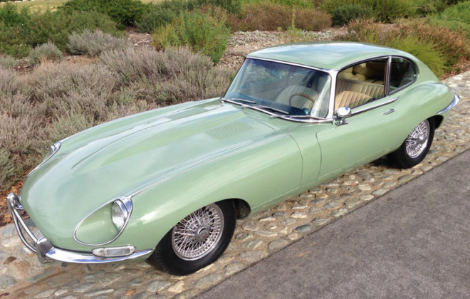 1968 E-Type Jaguar XKE Series 1.5 Willow Green paint (2).png