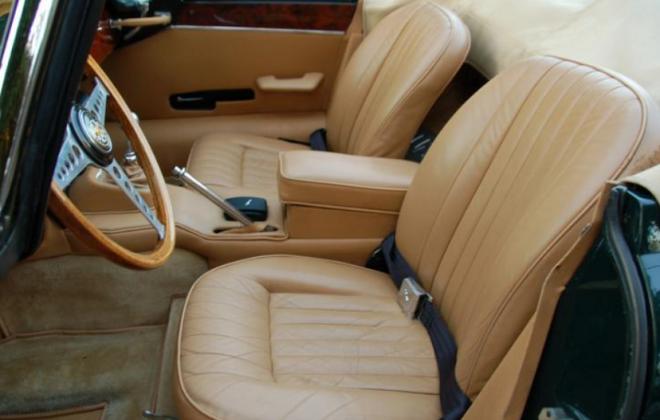 1968 E-Type XK-E Jaguar Series 1.5 light tan interior image (1).png