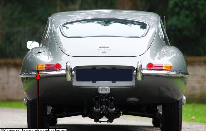 1968 E-Type XKE Jaguar UK Euro spec tail lights amber lenses image.png