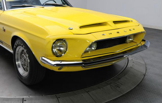 1968 Ford Mustang Shelby GT500KR convertible yellow (1).JPG