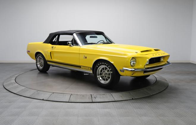 1968 Ford Mustang Shelby GT500KR convertible yellow (3).JPG