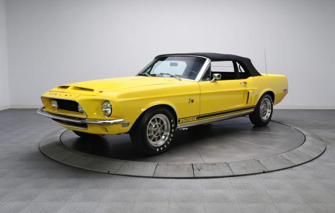 1968 Ford Mustang Shelby GT500KR convertible yellow (4).JPG