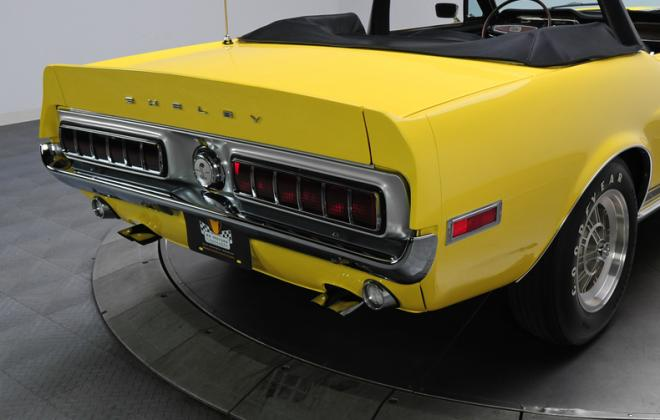1968 Ford Mustang Shelby GT500KR convertible yellow (5).JPG