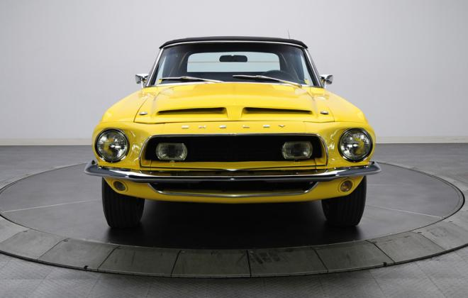 1968 Ford Mustang Shelby GT500KR convertible yellow (6).JPG