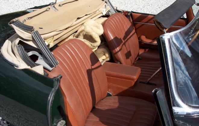1968 Jaguar E-Type XK-E Series 1.5 Tan interior image (1).png